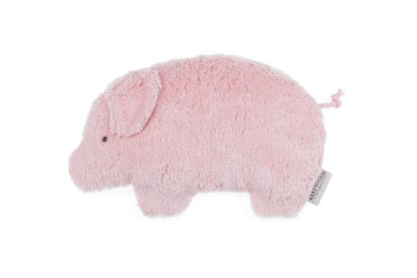 Kinderkissen Jule das Schweinchen mit Traubenkernfüllung