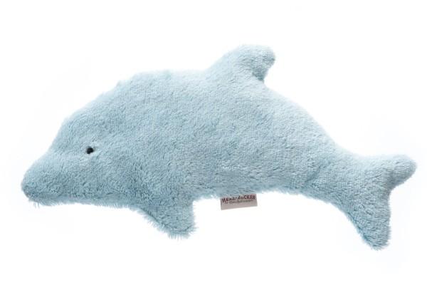 Kinderkissen Joe der Delphin mit Traubenkernfüllung