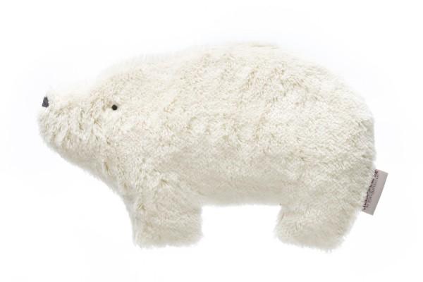 Kinderkissen Bjarne der Eisbär mit Kirschkernfüllung