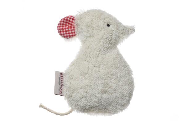Babykissen Silja die Maus mit Traubenkernfüllung