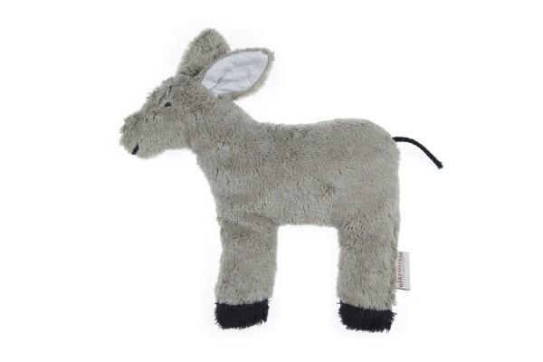 Kinderkissen Emil der Esel mit Traubenkernfüllung
