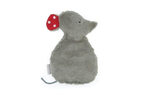 Kinderkissen Lina die Maus mit Traubenkernfüllung