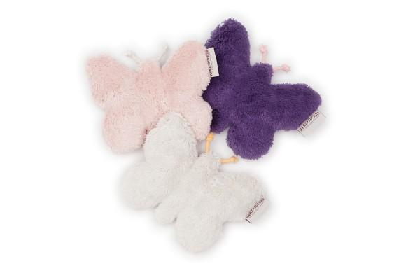 Babykissen Lilly der Schmetterling mit Traubenkernfüllung