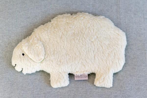 Kinderkissen Jette das Schaf mit Traubenkernfüllung