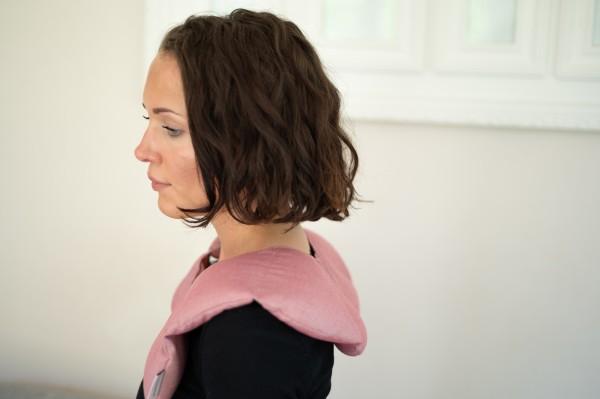 Schulterkissen mit Rapssamenfüllung - Herbstkollektion 2021