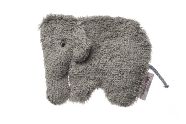 Babykissen Ole der Elefant mit Traubenkernfüllung